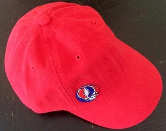 SYF on Soft Red Baseball Hat