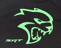 Dodge Hellcat SRT Challenger Charger Hemi Mopar Racing t-shirt
