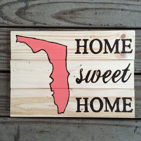 Home Sweet Home State Decor