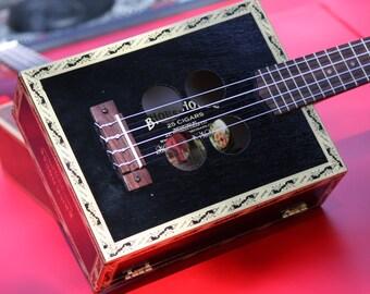 Carltone Brickhouse Black Deluxe Acoustic/Electric