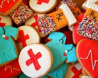 Nurse cookies! (12 cookies)