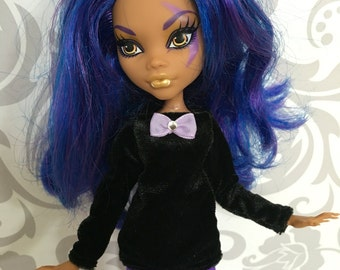 Outfit for Monster High Doll! Veloure top + leggings