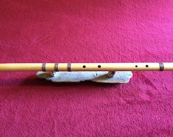 End blown bamboo flute in C Shivaranjani tuning - Assam bamboo