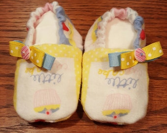 Baby Girl Shoes, Girl Shoes, Baby Shoes, Cupcake shoes, Shoes