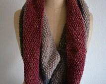 Infinite scarf striped