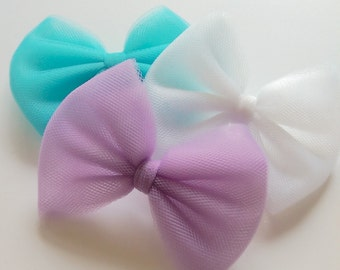 Tulle Bows (Many Colors!)