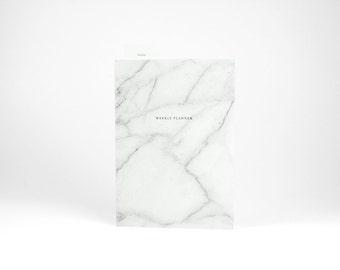 Weekly Planner Marble