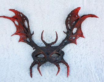 Hand made ooak halloween mask
