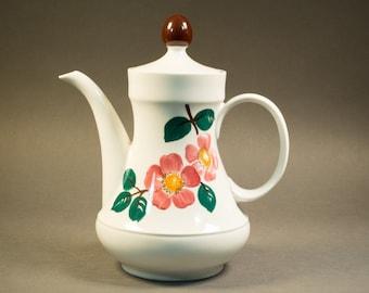 Vintage 60s Winterling Rösigh Bavaria ceramic teapot