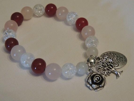 healing calming fertility gemstone moonstone quartz