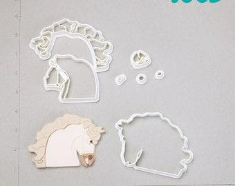 Horse  Fondant Cutter horse,horse jewelry,horseshoe,horse necklace,horse decor,rocking horse,