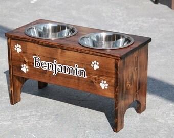 Medium Dog Bowl Feeder Holders