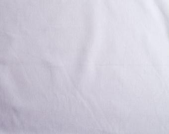 Organic cotton canvas fabric. Lilac. Per half metre