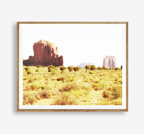 Desert Decor Western Espagne: Desert Print Western Decor Arizona Modern Art Wall Decor
