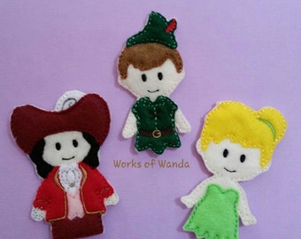 Peter Finger Puppet Set