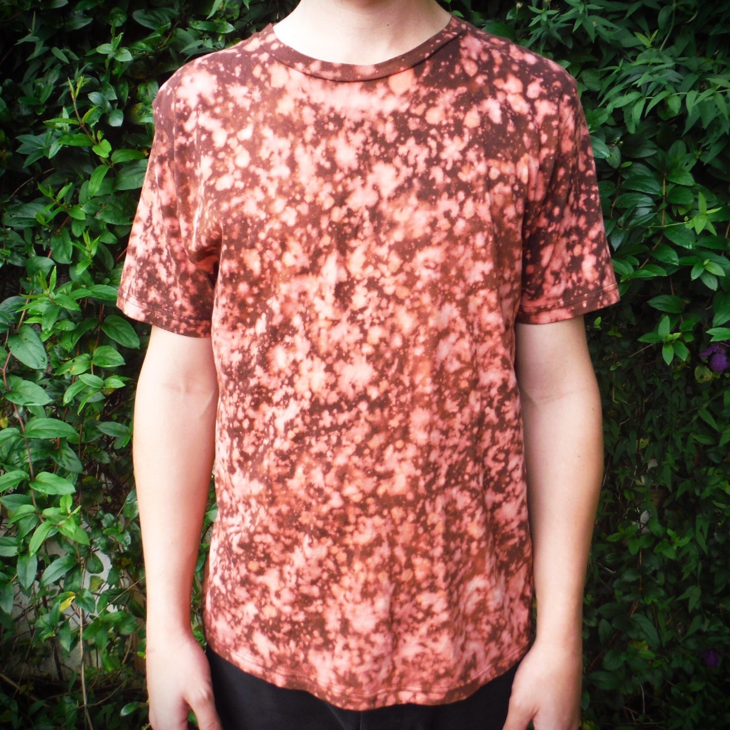 Ethical T-Shirt 100% Organic Cotton Bleach Dyed Hand Dyed Climate Neutral v5gXvMys
