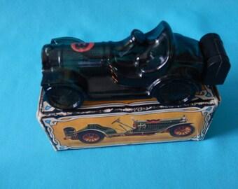 Vintage Avon Straight Eight Cologne Bottle in Original Box