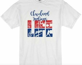 Cleveland Indians Baseball Life Shirt