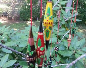Wood Ornaments,Lot of Ornaments,  Vintage Ornaments, Christmas Ornaments, Vintage Christmas