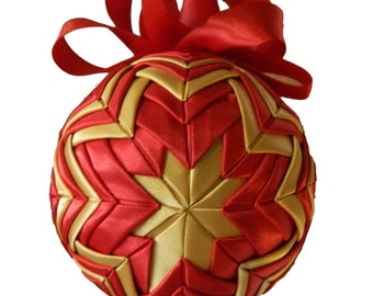 Quilted Decorative Ball