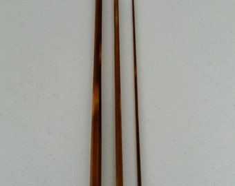 "Flamed Bamboo Fly Rod Blank 8' 6"" 3 piece 7-9 wt"