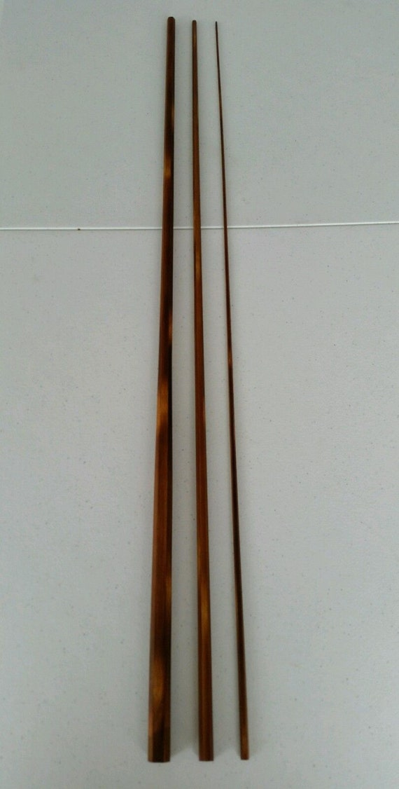 Flamed Bamboo Fly Rod Blank 8 6 3 Piece 7 9 By
