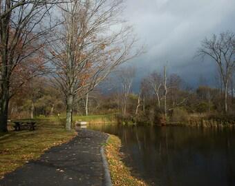 Fall Stormy Sky
