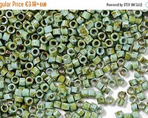 On Sale NOW 25%OFF TOHO 11/0 Treasure Seed Beads - Hybrid Turquoise Picasso [Tt-01-Y307]