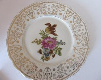 "Baronet F&B Bohemia 11"" Dinner Plate Made in Czechoslovakia (Pattern 3)"
