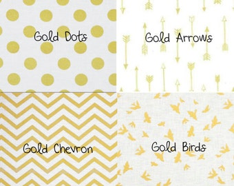 Gold and White 5 Piece Set