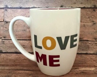 Love Me Coffee Mug Valentine's day gift