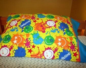 Smiley World pillowcase