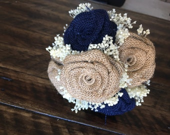 Mini Burlap Bouquet, Burlap toss Bouquets, Rustic Bouquets, Alternative Wedding Bouquets, Burlap Bouquets, Bouquets, Burlap Weddings
