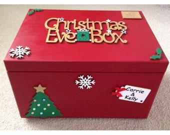 Personalised Large Christmas Eve Box - 40x30x23cm