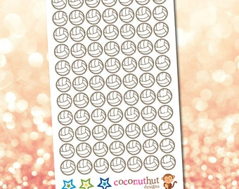 Volleyball / Sports Planner Stickers
