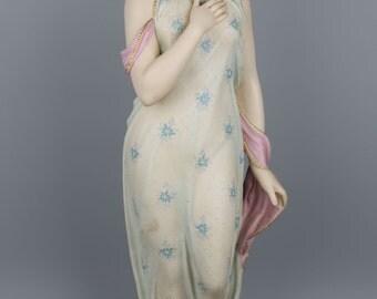 Antique 1860 Copeland figurine Beatrice 22