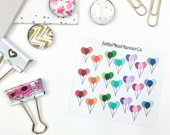 Mini birthday balloon reminders!