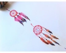 Dreamcatcher Feather Boho Dreams Washi Tape Sample 24""