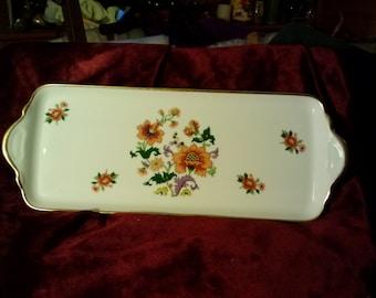 Limoges Tharaud Porcelain Dresser Tray