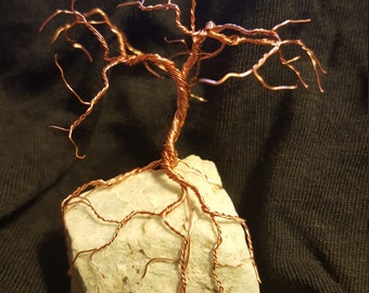 Miniature Copper Tree of Life