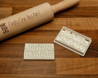 Star Wars Logo Cookie Cutter