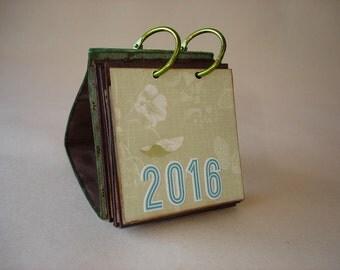 Mini Calendar for 2016
