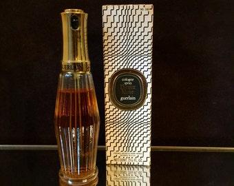 L'heure Bleue Guerlain Perfume  vintage Rare 2.5 oz cologne spray