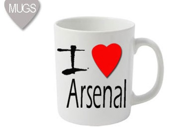 I love Arsenal mug