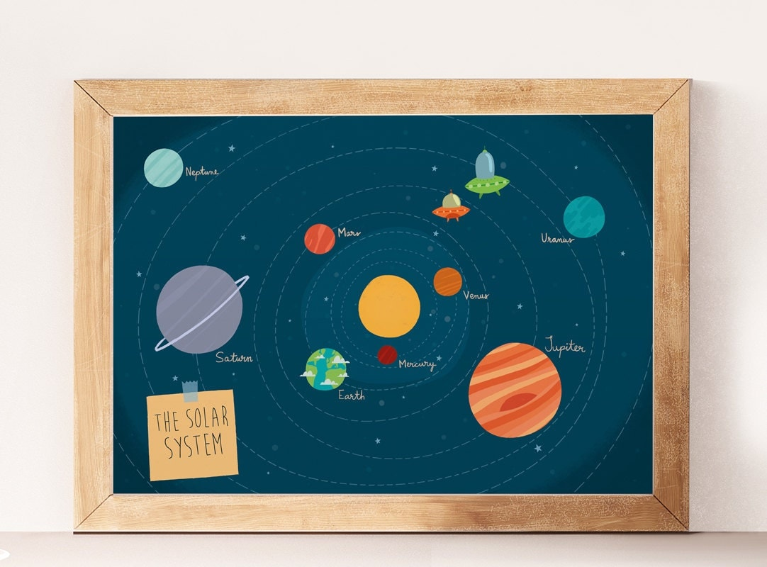 solar system nursery baby room - photo #19