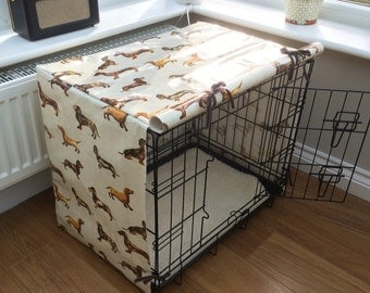 Small Dog Crate Cover Daxi Oilcloth