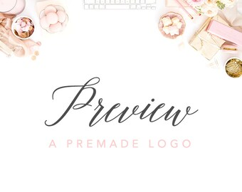 Preview a Premade Logo