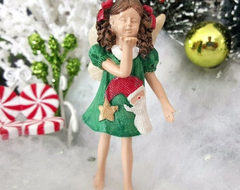 Miniature Christmas Fairy Tabby