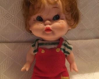 """Vintage 6"""" Boy Doll"""