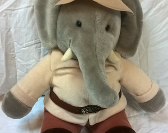 Babar the Elephant in Safari Suit